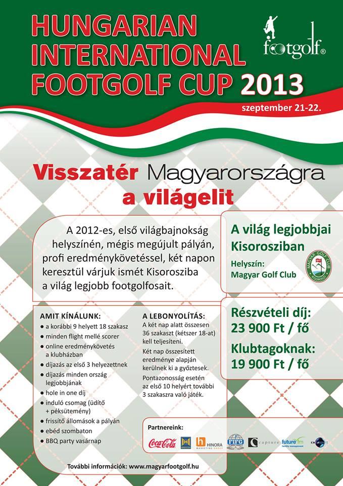 footgolf nemzetközi verseny 2013