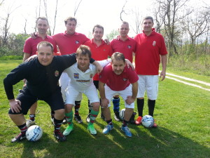 Milan Footgolf csapata