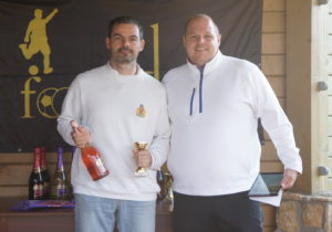 Flink (balra) második kategóriagyőzelmét aratta (fotó: Hole Hunters)