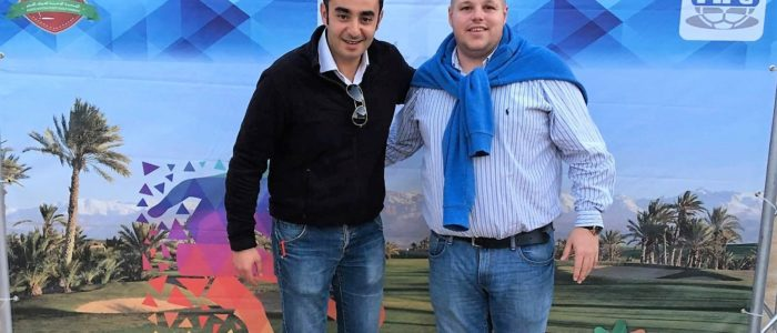 Reda El-farah és Gelencsér Gábor Marokkóban