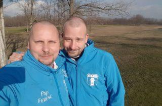 Pap Ferenc és Nagy Balázs változatos meccset vívott egymással