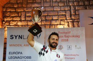Bacskai Bence a FOB 2018-as győztese