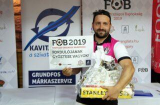 Bacskai Bence a FOB 1. fordulójának győztese