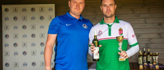 Borbély (jobbra) volt a legjobb magyar Szlovákiában