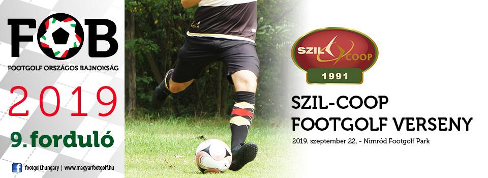 Szil-Coop Footgolf verseny - 36 szakasz egy nap alatt - jelentkezz